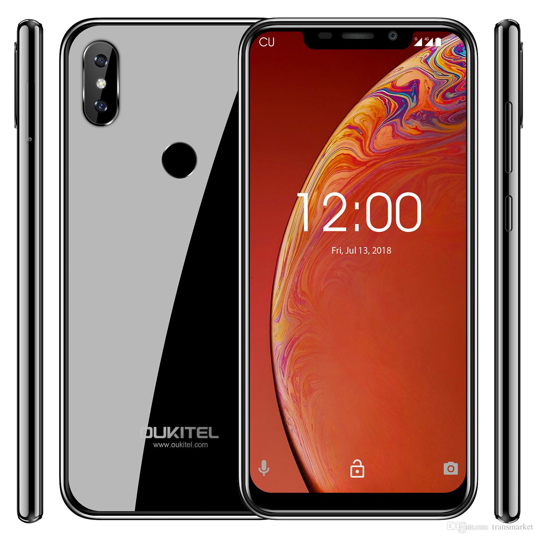 OUKITEL C13 Pro 5G/2 4G WIFI 6 18 19:9 Android 9 0 MT6739 Quad Core 2GB  16GB Fingerprint 4G LTE Smartphone Face ID Mobile Phone