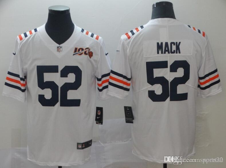 lowest price 9d195 6067d Custom Chicago Bears Jersey Khalil Mack Walter Payton Mitchell Trubisky  Trey Burton Size Vapor Untouchable american football jerseys 4xl