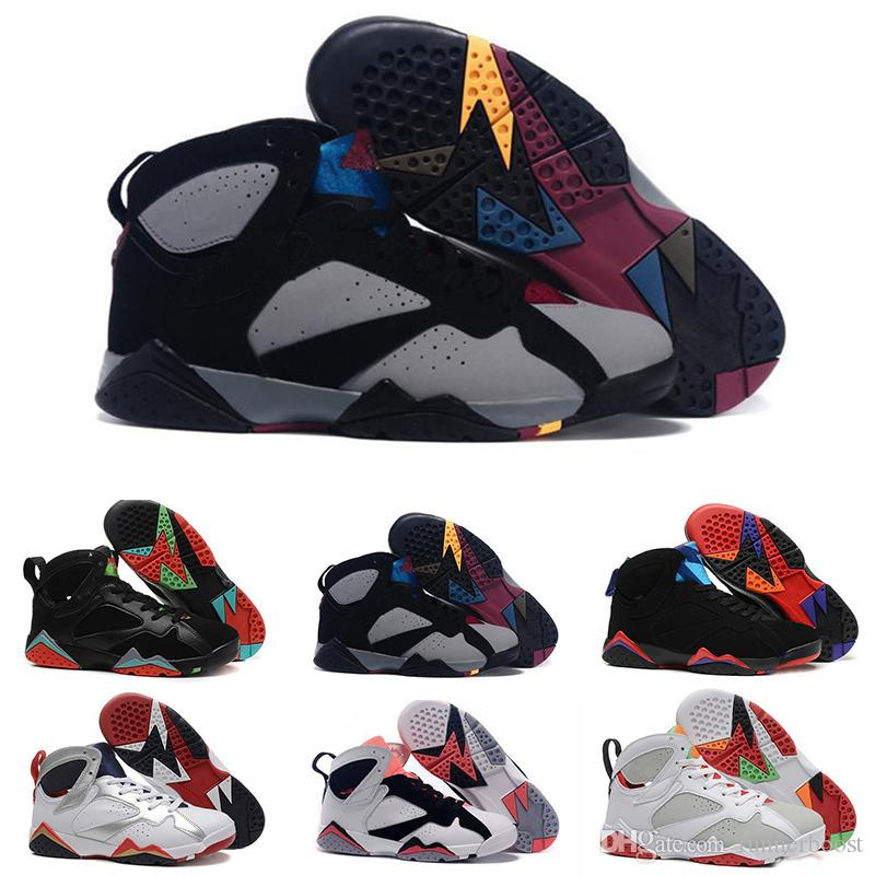 the best attitude 51fad 7fa33 2019 Best 7 7s Mens Basketball Shoes For Women Raptor Bordeaux Hare Tinker  Alternate Sweater Olympic Designer Sneakers Trainers Size 36-46