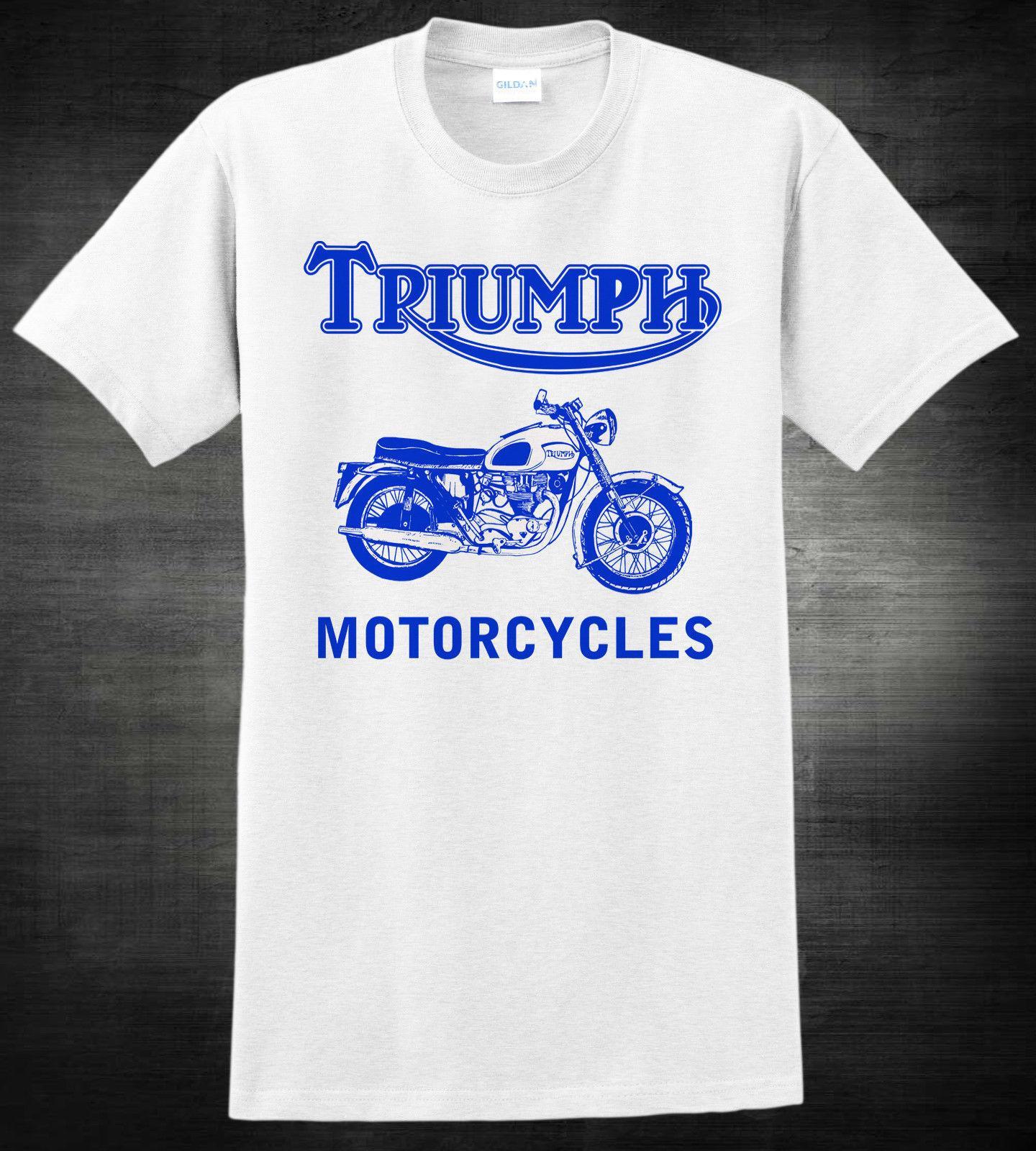 04963912c Vintage Triumph Motorcycle Tee Shirts | Top Mode Depot