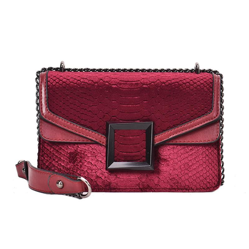 2019 Spring Korean Style Chain Small Shoulder Bag Ladies Street Fashion Shopping Crossbody Bags for Women Evening Day Clutch Messenger Bag