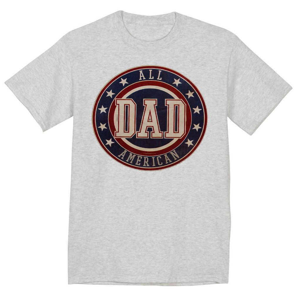 391cbb06 Funny Fathers Day Shirt Gift For Dad All American Dad Tee Shirt, Men T Shirt  100% Cotton, Family Top Tee Cute T Shirts Nerd T Shirts From Adidastshirt,  ...