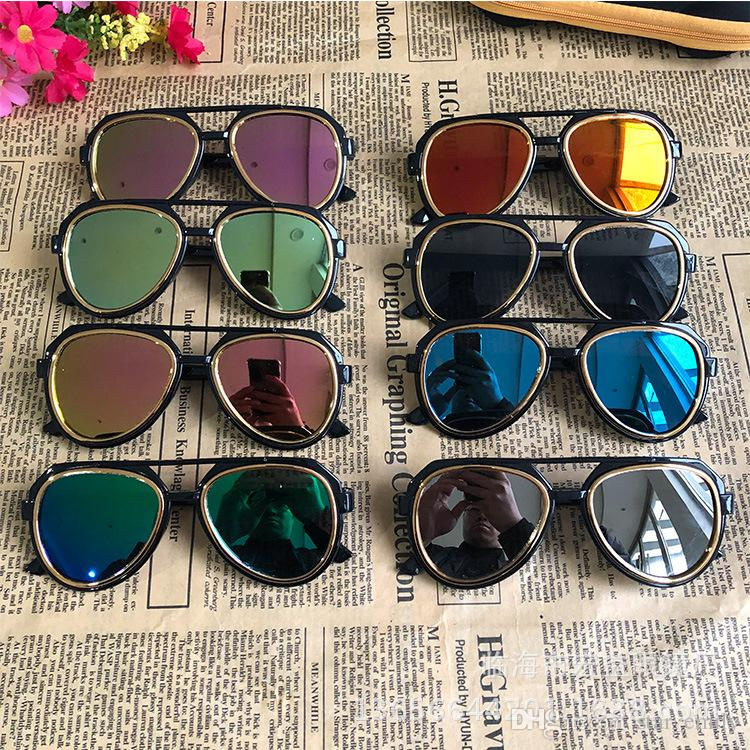 d6cddf3380fe 2019 2019 New Children Sunglasses Kids Beach Supplies UV Protective Eyewear  Girls Boys Sunshades Glasses Fashion Accessories 680 From Star emily