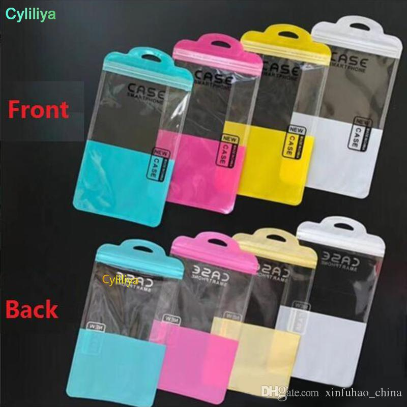 Zip lock Mobile phone accessories cell phone case earphone USB cable Retail Packing Bag OPP PP PVC Poly plastic packaging bag Free Fast