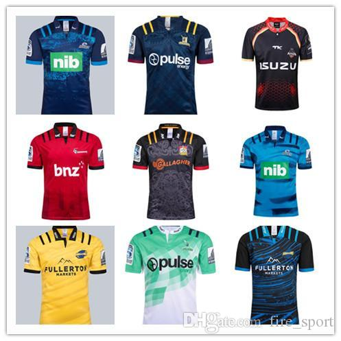 413aa67f13d 2019 2018 2019 Chiefs Super Rugby Jersey New Zealand Super Chiefs ...