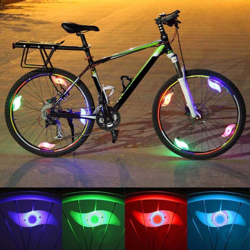 1 Valve Vert Bouchons Rayons Pour Pneumatique De Accessoires Bleu Lumière Pneu Led Lampe Pc Vélo Rouge Lanternes Roue A54Lj3R