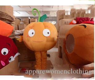 2019Hot sale new plush pumpkin carnival costumes mascot costumes adult size free shipping
