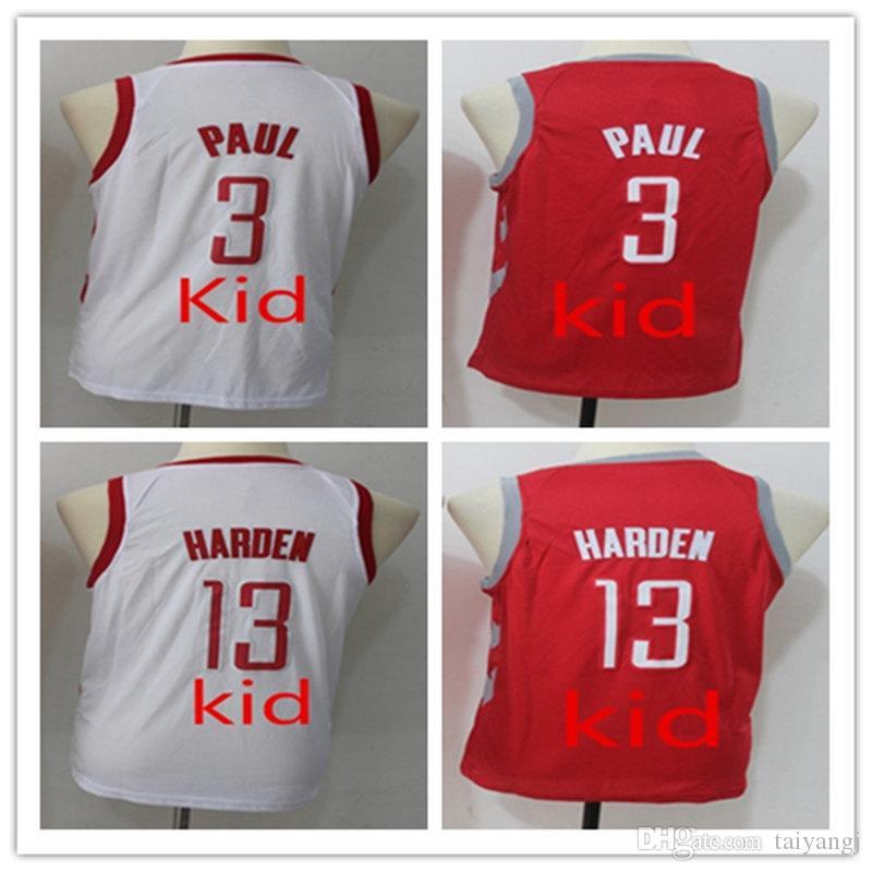 NCAA 2018 Youth Kid s 3 Chris Paul Shirt 13  James Harden Jerseys ... 5967c594b