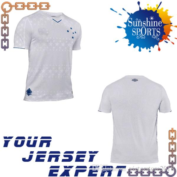 d82019c25 New CRUZEIRO Soccer Jersey 19 20 Home Away White FRED DE ARRASCAETA ...