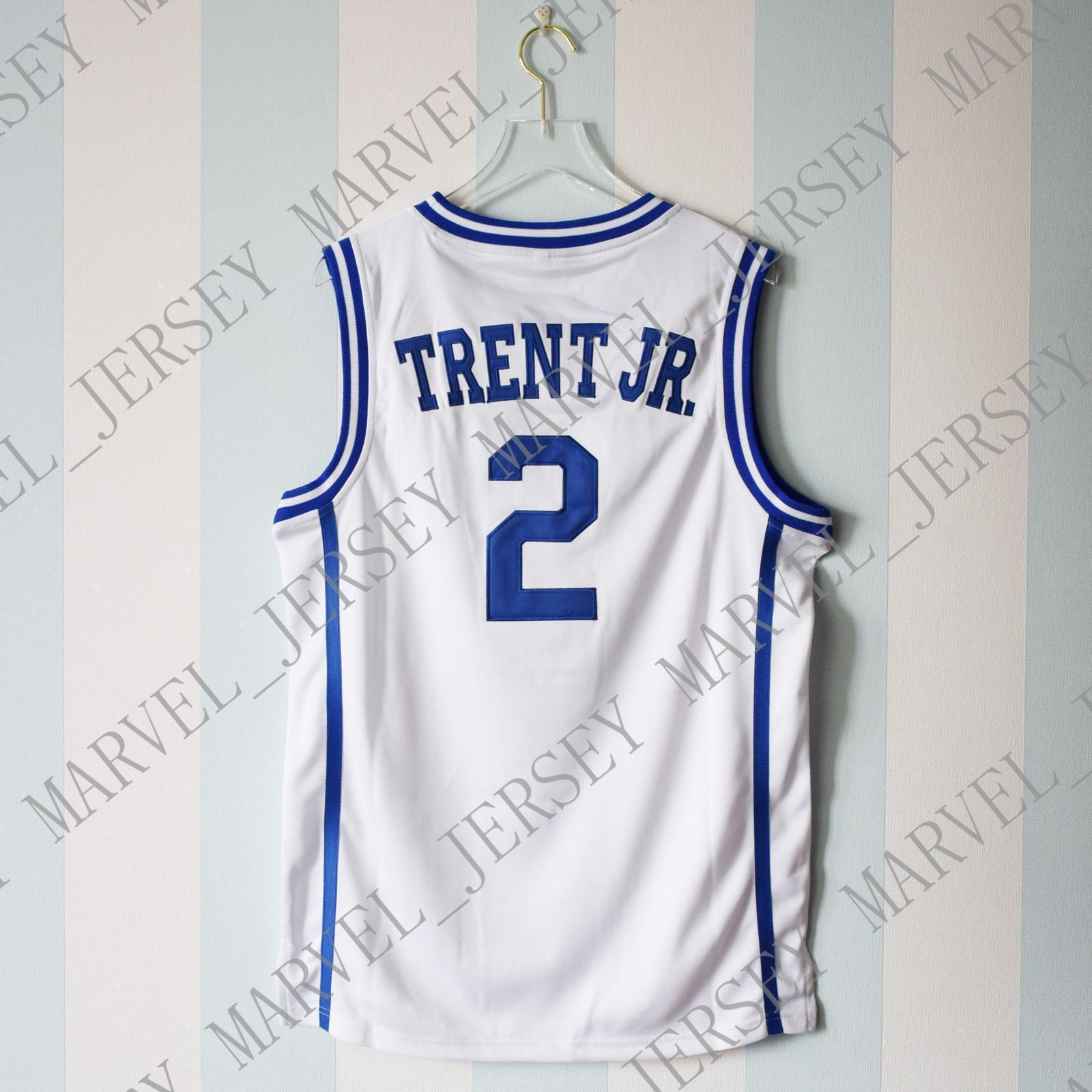 2019 Cheap Custom Gary Trent Jr.  2 Jersey Duke Blue Devils Basketball  White Jersey Stitch Customize Any Number Name MEN WOMEN YOUTH XS 5XL From  ... 18a1b5a18