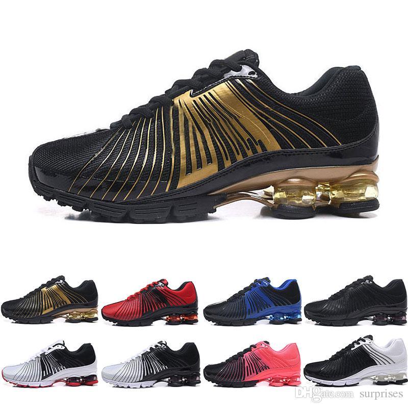 huge discount 07026 3299b Acheter Nike Shox Deliver NZ Chaussures De Course Pas Cher Pour Femmes  Hommes, Classique Léger London Olympic Athletic Sports De Plein Air  Chaussures ...