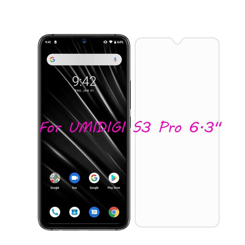 UMIDIGI S3 Pro Tempered Glass 9H High Quality Protective Film  Explosion-proof Screen Protector For UMIDIGI S 3 Pro Case