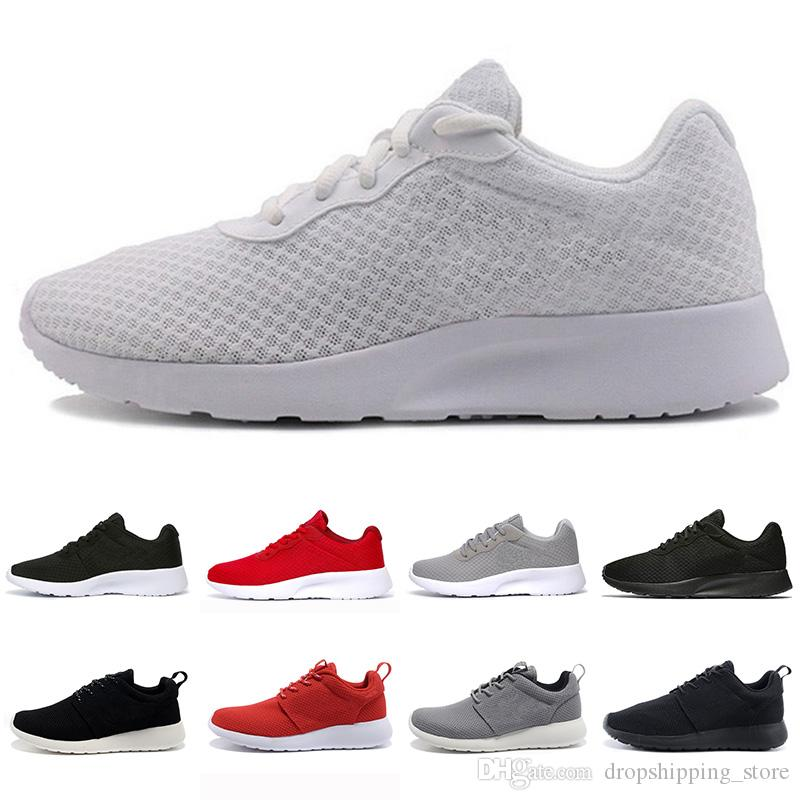 Nike Roshe Run Herren Schuhe atmungsaktiv schwarz rot : Nike