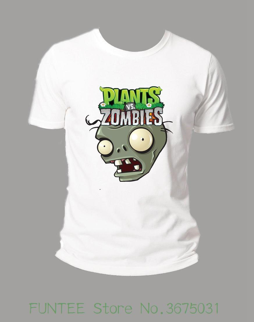 T-shirt da donna per adulti Plant Vs Zombies T-Shirt Harajuku Tee Shirt Divertente casual in cotone Femme Hip Hop nero