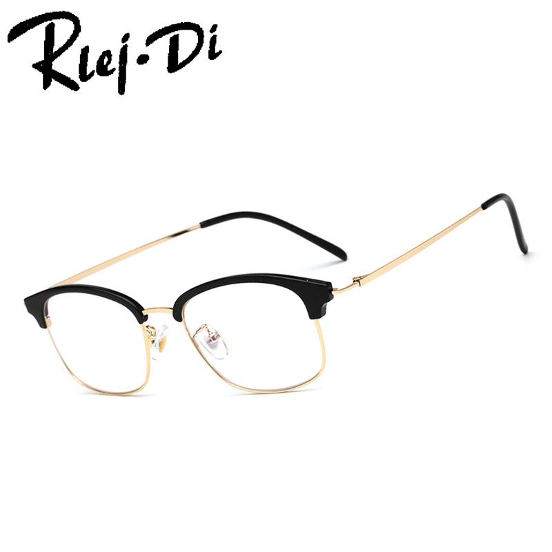 0b6705c742 NZ019 Classic Rivet Half Frames Eyeglasses Vintage Retro Eye Glasses ...