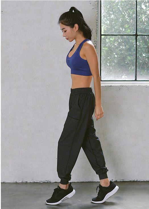 6457671683 New Ladies pure cotton loop small leg harem pants ladies sport baggy yoga  pants A013