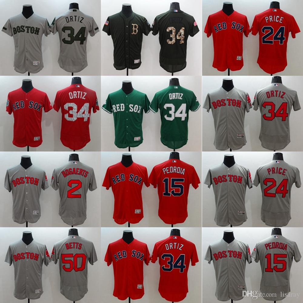 9d82671c1 2019 Customized Boston Red Sox Mens  41 Chris Sale Betts Pedroia Price Any  Name Any Number White Red Stitched Flex Base Baseball Jerseys S 4XL From ...