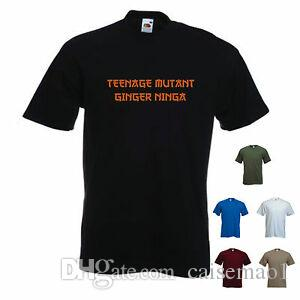 'Design Ginger Short-Sleeve' - Camiseta divertida para hombre. S-XXL