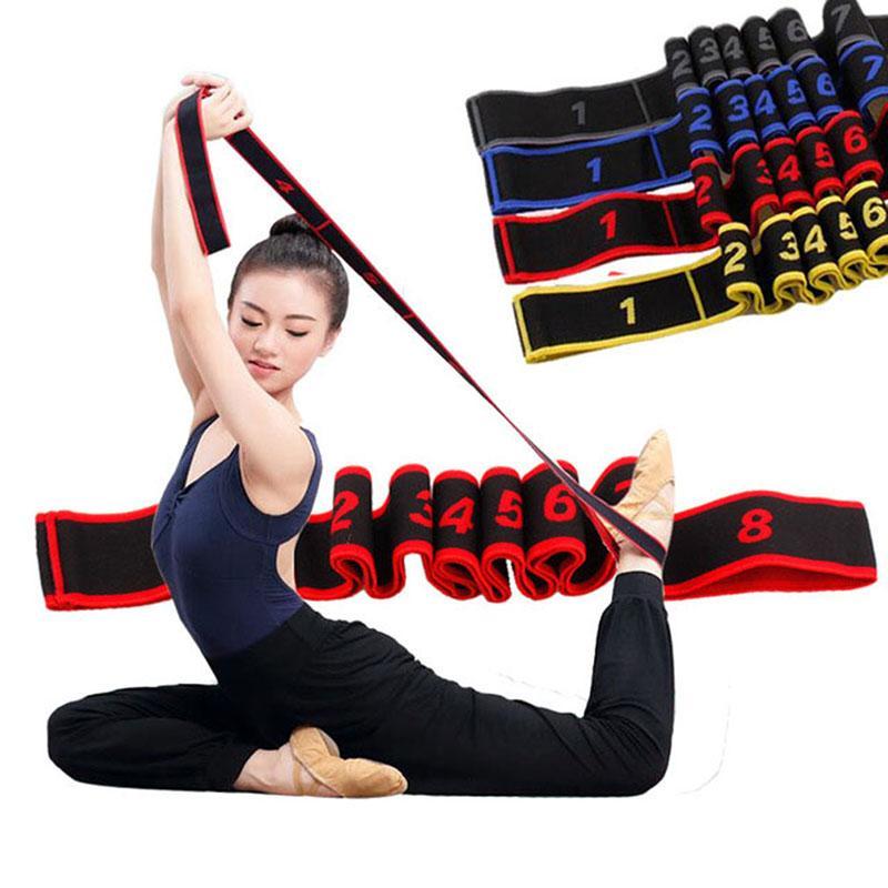 Compre Bandas De Resistencia De Estiramiento De Yoga Cinturón Multisegmento  De Alta Elasticidad Para Adultos Cinturón De Estiramiento Asistido Productos  De ... 98ddda7fb92c