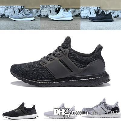 sale retailer ba025 a880f Ultra Boost Mens 2019 Shoes Ultraboost 4.0 Orca Candy Cane Ash Peach Triple  White Gray Burgundy Show Your Stripes shoes 36-45
