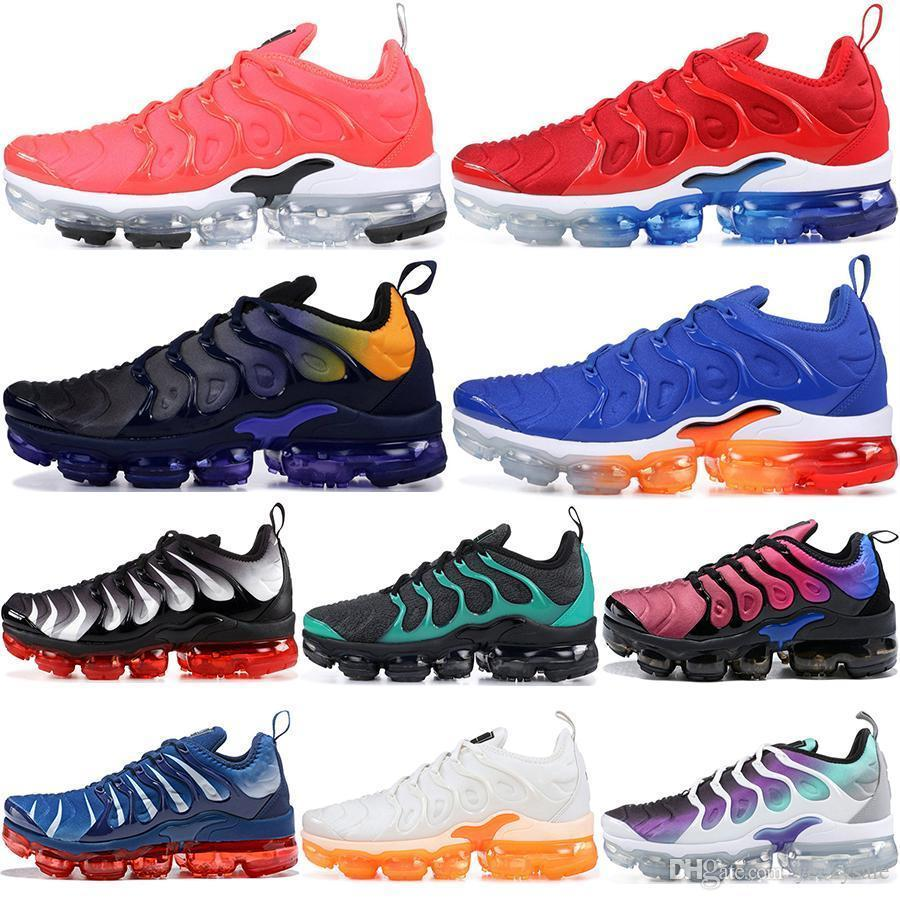 Cheap Tn Plus Men Women Running Shoes Usa Game Royal Triple White Black Silver Hyper Violet Volt Designer Trainers Sport Sneakers 36-45