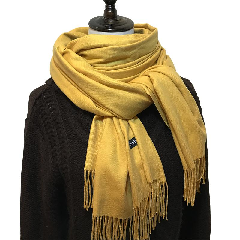 0f3853318 Women Oversize Cashmere Scarf Scarves Fashion Winter Warm Blanket ...