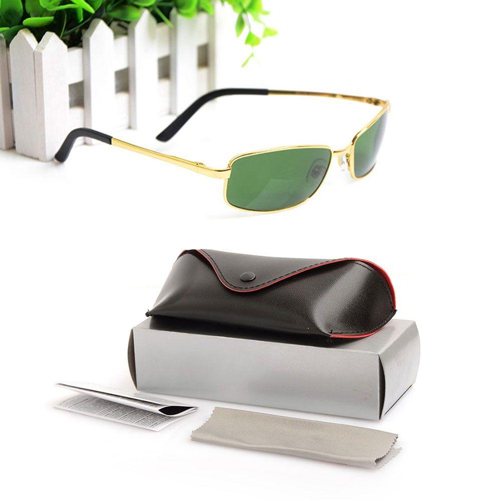 6335ab5442 High Quality 3194 Sunglasses Drive Mens Sunglasses Brand Womens Sun Glasses  Glass Lenses UV400 Glasses Classic Metal Frame Sun Glasses Prescription  Glasses ...