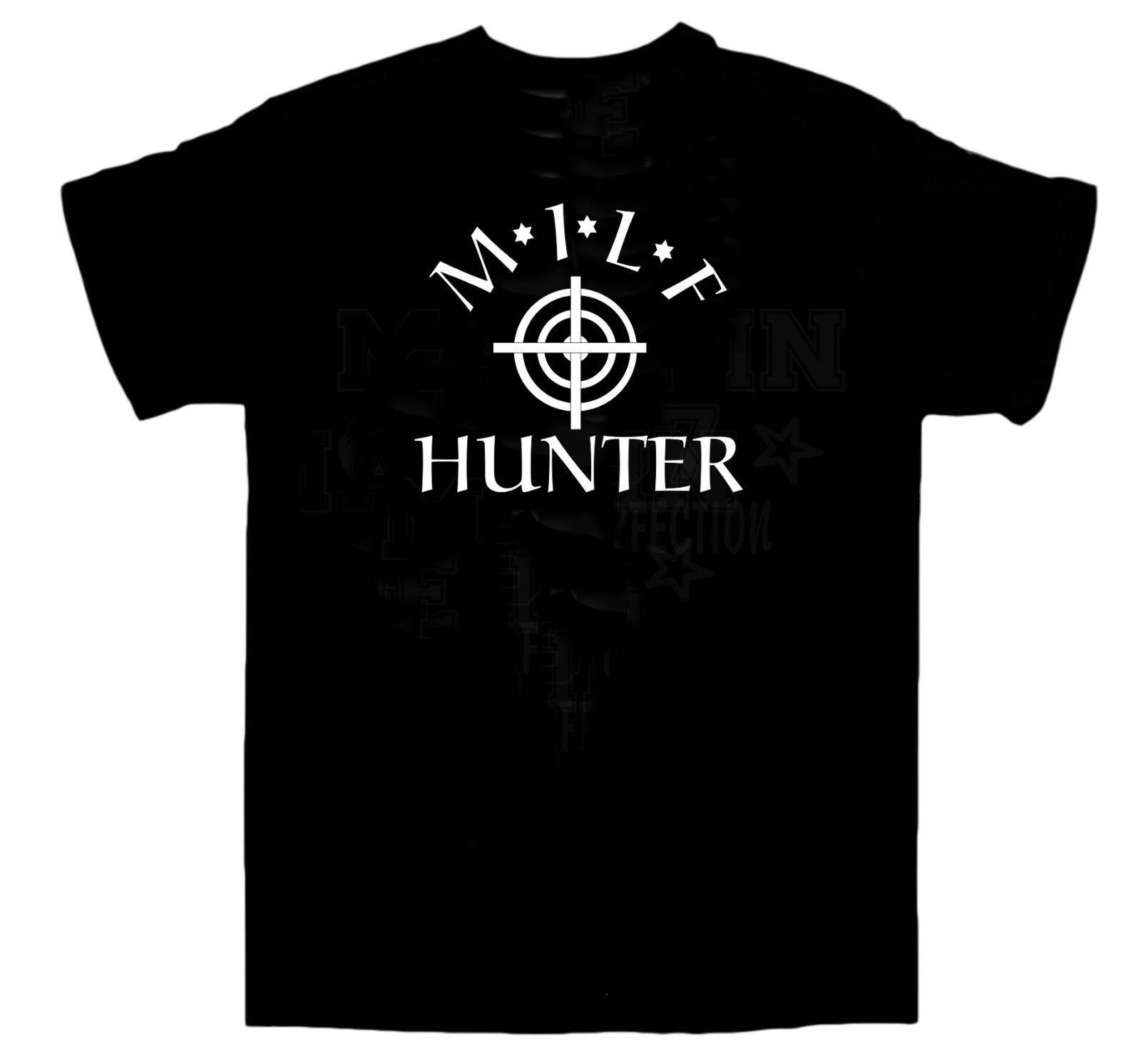MILF Hunter T Shirt Funny Sex BBQ Rude Party American Pie Size XLBrand  Shirts Jeans Print Funny T Shirt Slogans Shirt Shirt From Whitecup, $11.78|  DHgate.
