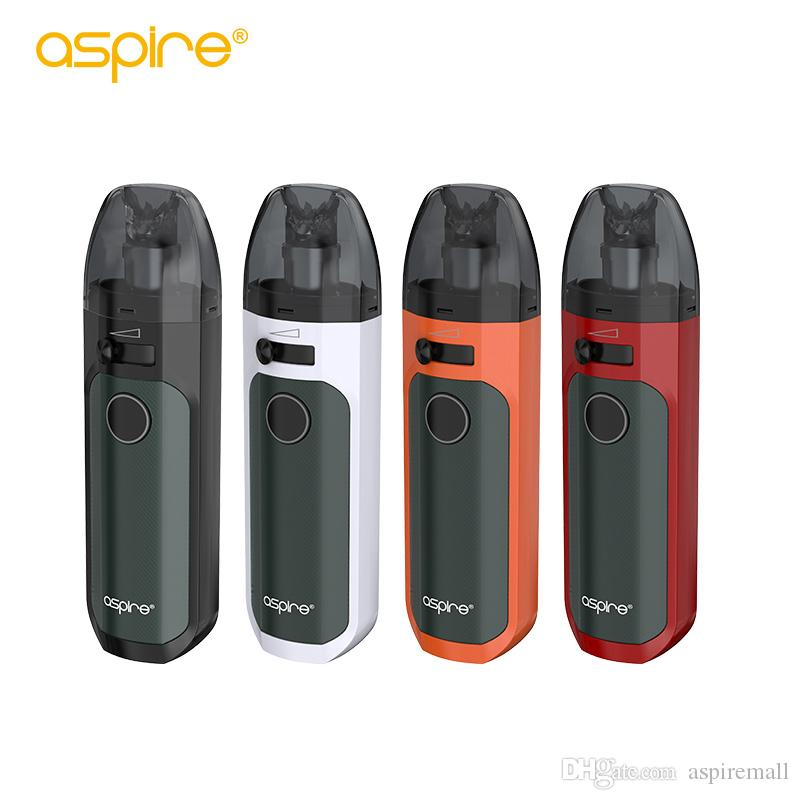 Aspire Tigon AIO Pod Kit Sistema com Built-in bateria 1300mAh e Tigon aio pod 4,6ml Vape Pod 100% Authentic