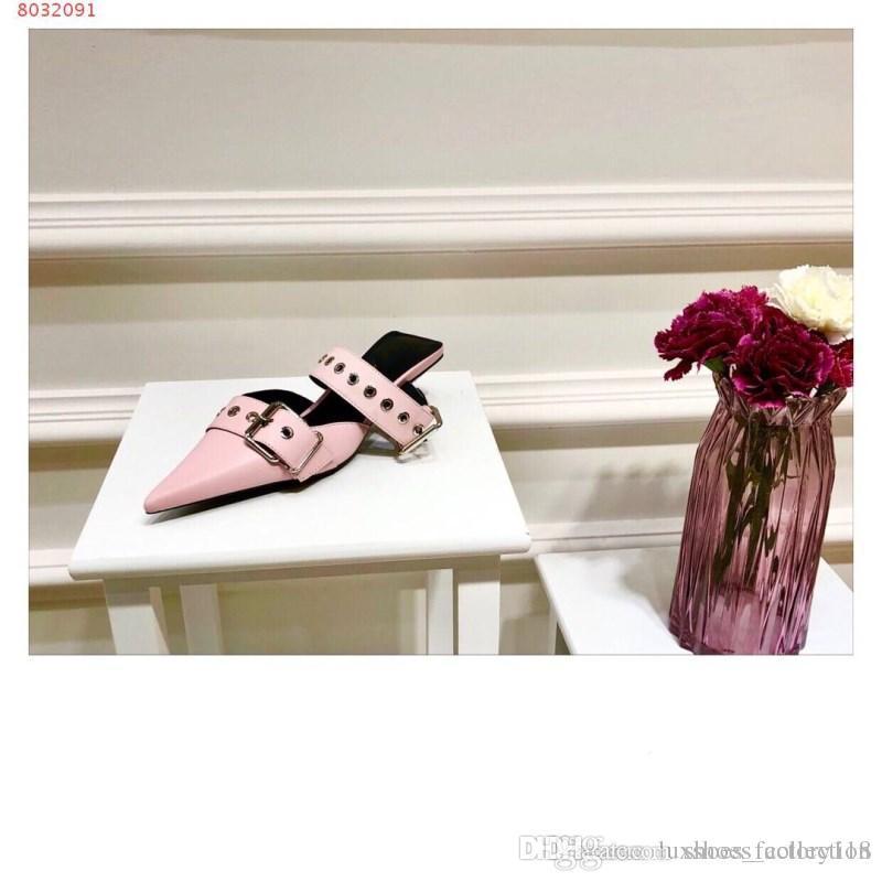 low priced 07cd0 633c1 2019 Damensandalen, Spikes, Modische Damenschuhe mit Nagellöchern, Größe  34-42, Absatzhöhe 4 cm