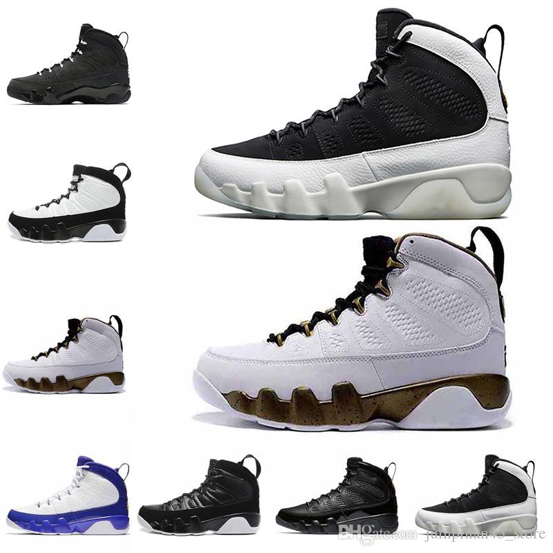 987fb8c0a12e High Quality Mens 9 9s Basketball Shoes City of Flight Patent Leather  Anthracite Cool Grey Lakers PE OG Space Jam Designer Trainers Sneakers 9 9s  Basketball ...