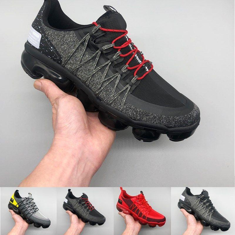 Zapatos 2019 Mediano Hombres Run2019 Nike Corrientes Zapatillas La Utilidad Llegada Air Diseñador Vapormax Oliva Crush Borgoña Nuevos De hQdtrs