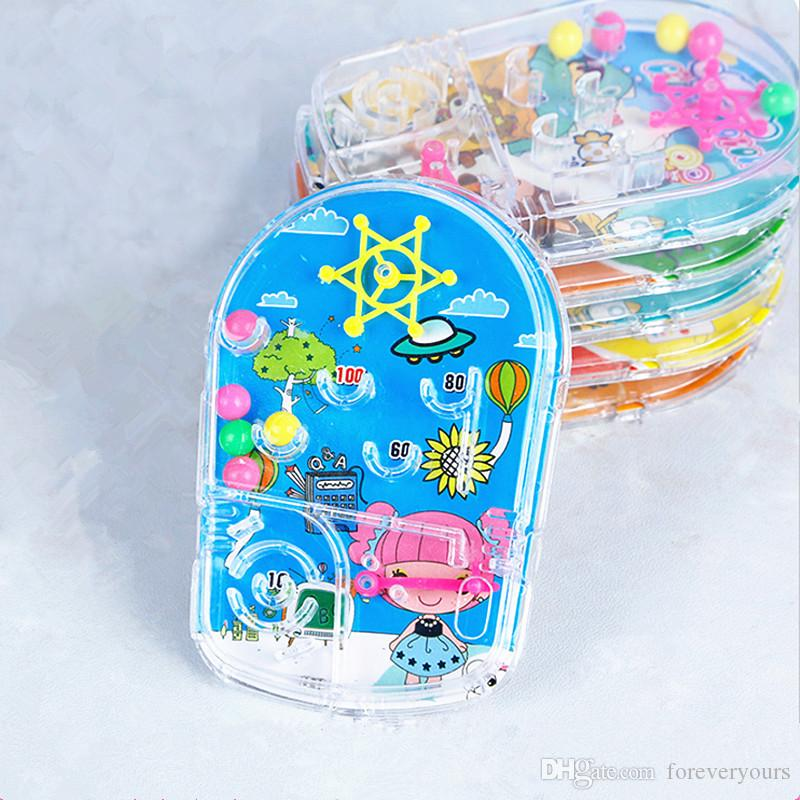 Cartoon Pin Ball Game Toy Kids Happy Birthday Party Favor Souvenirs Baby Shower Return Gift Pinata Goody Bag Favors For Bridal