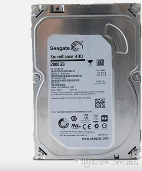 SATA HDD 2TB Hard Drives Internal Hard Disk for Computer storage and CCTV Security Recorder DVR NVR