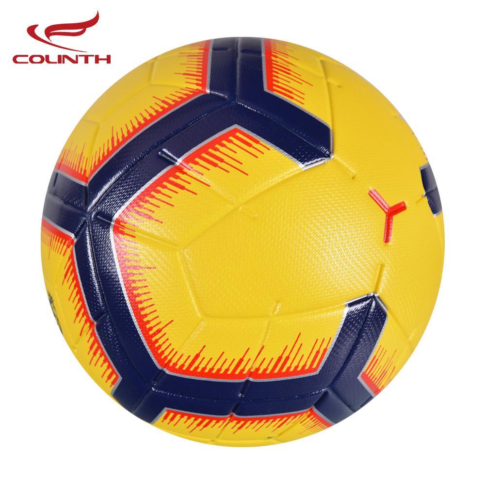 41c7ed0fbe Compre 2019 Premier Bola De Futebol Tamanho Do Escritório 5 Liga De Futebol  Ao Ar Livre PU Material Bolas De Treinamento Do Jogo De Goal Personalizado  Bola ...