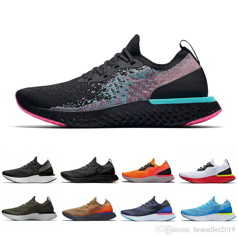 022d1837bbed0 2019 Epic React Running Shoes Art Of Champion Copper Flash Trainers Women  Mens Racing Runner Breathable Sports Sneakers Zapatillas Best Womens Running  Shoes ...
