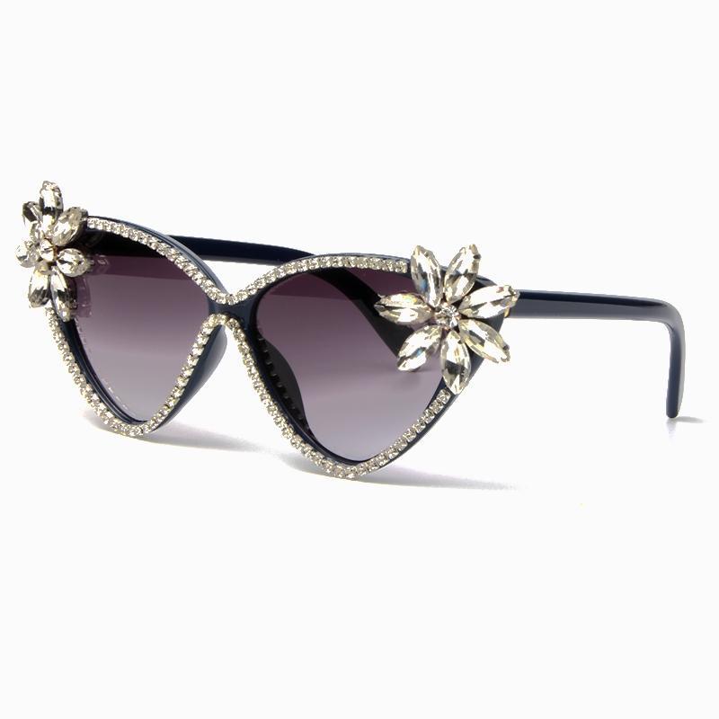 580b607362 Sunglasses for Women Brand Designer Cat Eye Sunglasses Luxury Crystal Vintage  Sun Glasses Female Oculos De Sol Feminino Online with  28.11 Piece on  Agonon s ...