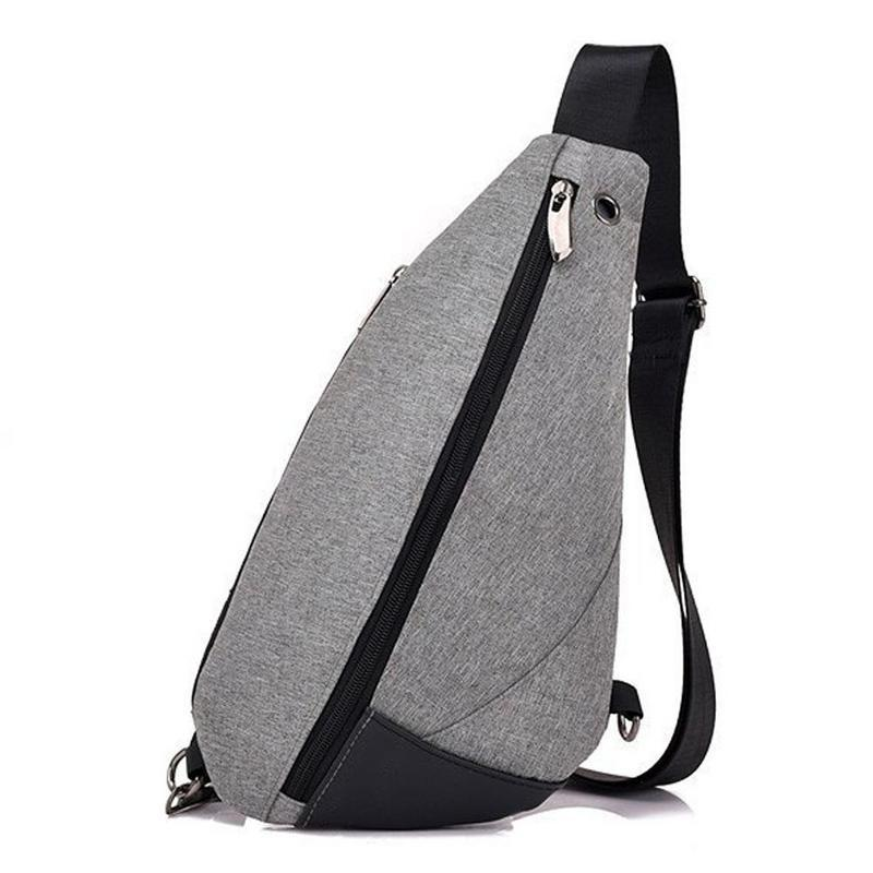 Men Chest Bags Single Shoulder Messenger Bag Casual Earphone Hole Shaped  Mini Fashion Simple Sports Chest Outdoor Crossbody Bag Mens Messenger Bags  Mens ... a83379075ff87
