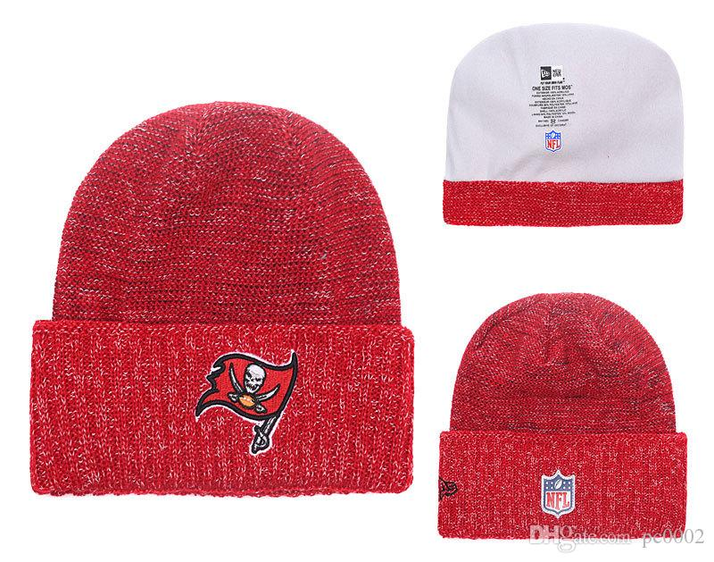 83545217 Men's Tampa Bay Buccaneers New Purple 2018 Sideline Cold Weather Official  Sport Sideline Cold Weather Official TD Knit Hat 01