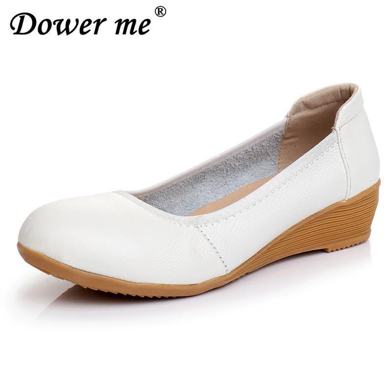 06e09f1ed8a Compre Zapatos 2019 Nueva Moda Oxford Mujeres Bombas Tacones Bajos Uniforme  Vestido Mujer Primavera Plataforma Suave Calzado Para Estudiantes De La  Escuela ...