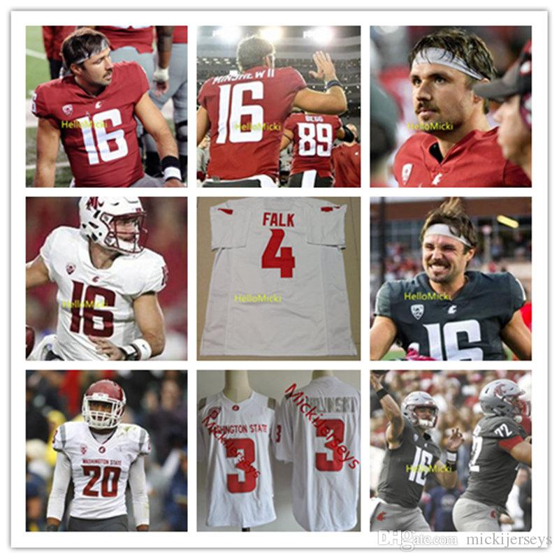 2019 Custom Washington State Cougars Football Jersey Gardner Minshew Dezmon  Patmon Easop Winston Max Borghi James Williams Trey Tinsley WSU Jerse From  ... 4d3d9fb95