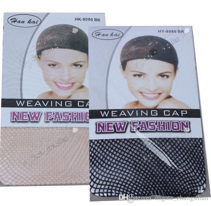 2018 Hot Selling NEW Fishnet Wig Cap Stretchable Elastic Hair Net Snood Wig Cap hair net wig net
