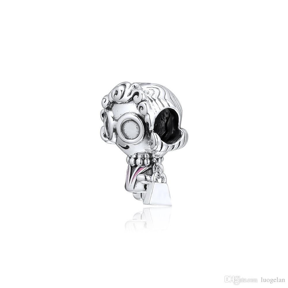 2019 dia das mães 925 jóias de prata esterlina senhora santo charme beads serve pandora pulseiras colar para as mulheres diy fazendo