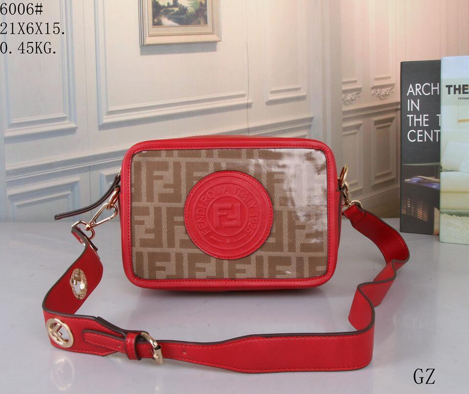 d66195e6b15 New Brands FEND Handbags Handbag Men Women Chest Pockets Zipper Sports  Leisure Travel Bags Crossbody Bags For Women bag 02