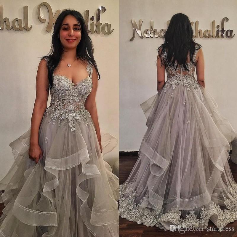 Ball Gown Prom Dresses Sequins Beads A Line Sweetheart Girls Formal  Cocktail Dress 2019 Tulle Sexy See Though Back Arabic Dress Evening Wear  Tulle Prom ... 8578b64b10bb