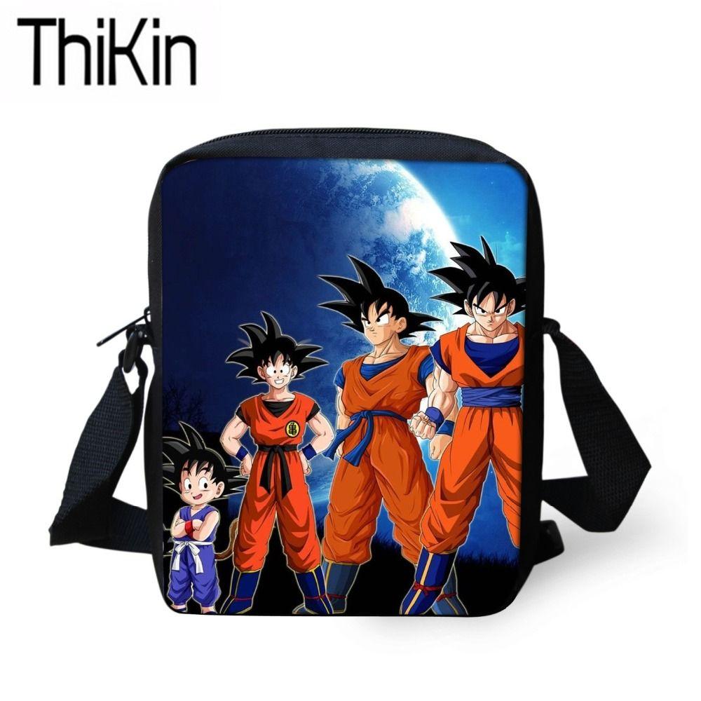 2b954883e6d THIKIN Messenger Bags for Kids Cartoon Anime Printing Mini ...