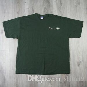 Mens Vintage Wholesale Wholesale Cars 90s Tee T Shirt Racing Green 2XL XXL