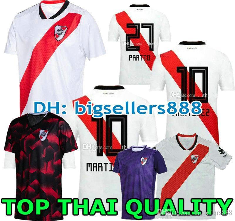 ecb9dbd5962 2019 Top Thai Quality 19 20 RIVER PLATE Home Jersey Soccer D ...