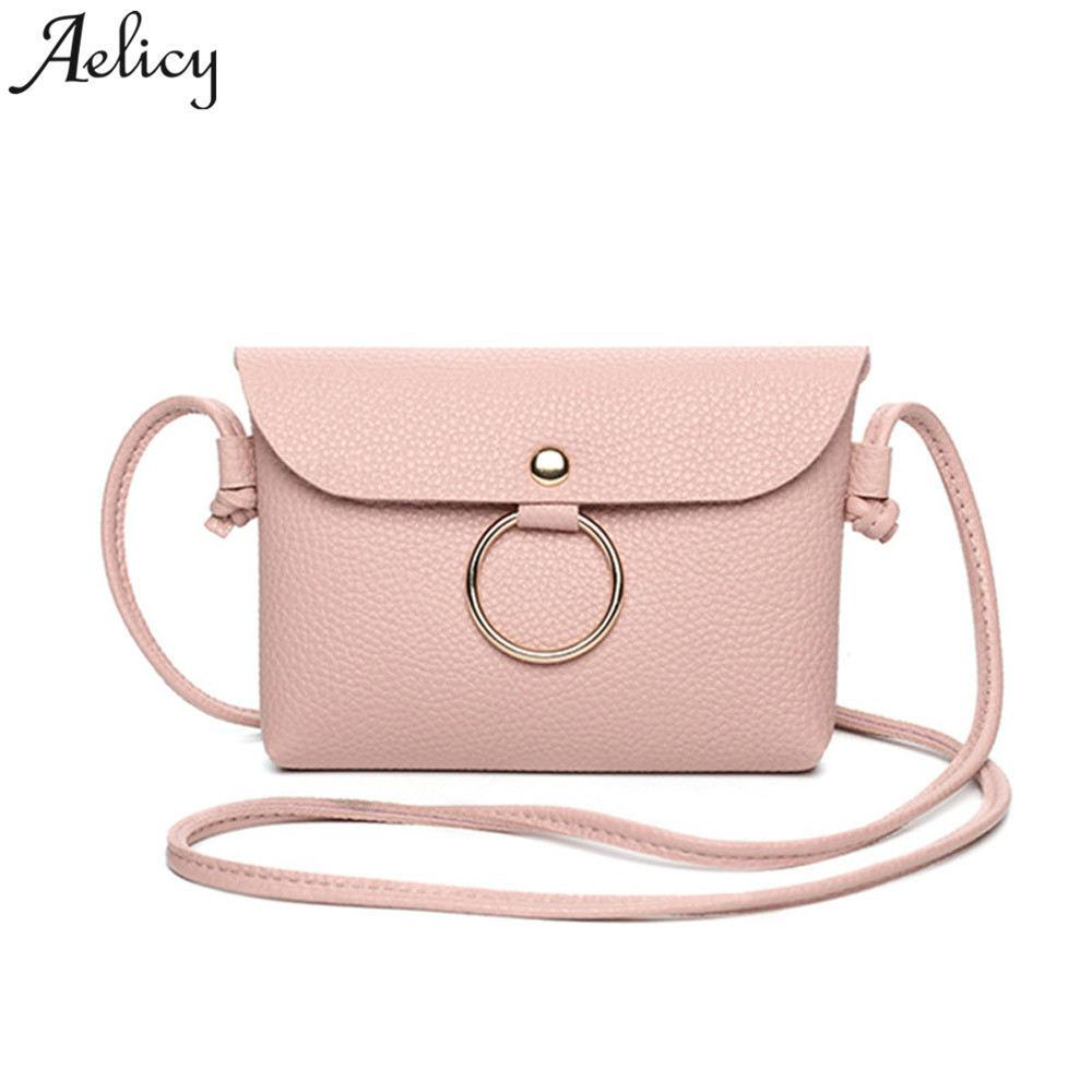 618c855fad79f Aelicy Luxury Leather Saddle Bag Leather Women Small Summer Sling Bag For  Girls Messenger Bag Women Handbag Cross Body Vintage Evening Bags Leather  Goods ...