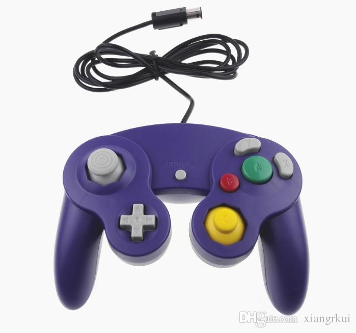 10 farben Top Qualität NGC Wired Game Controller Gamepad für NGC Spielekonsole Gamecube Turbo DualShock Wii U Verlängerungskabel ohne Box
